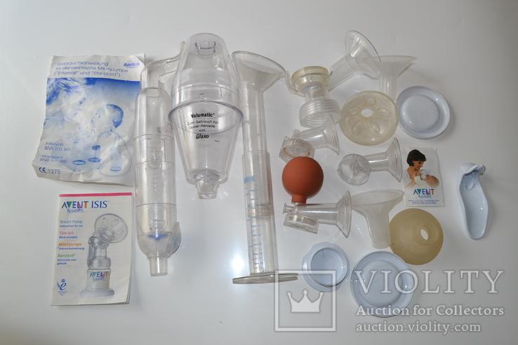 Элементи молокоотсасывающего прибора, фото №2