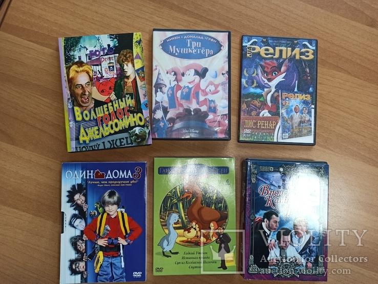 Фильмы для детей 6 шт., фото №2