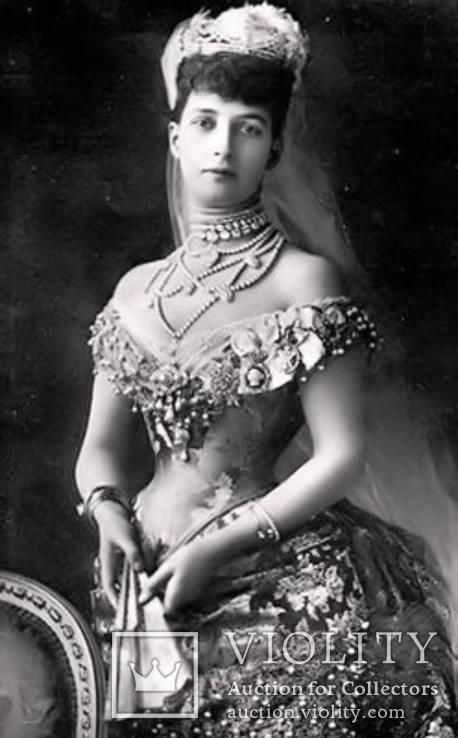 Серьги ''Malgorzata'' с розовыми цирконами и жемчугом, серебро 925'', Европа, фото №3
