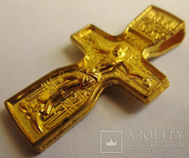 Крест нательный . Федоровский нательный крест ., фото №2