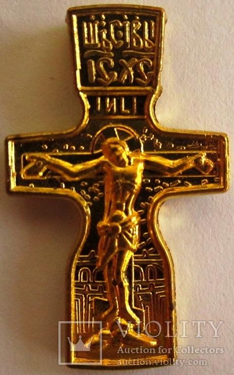 Крест нательный . Федоровский нательный крест ., фото №3