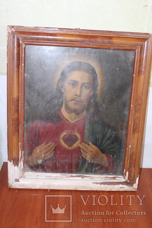 Икона Иисус Христос 50*60, фото №2