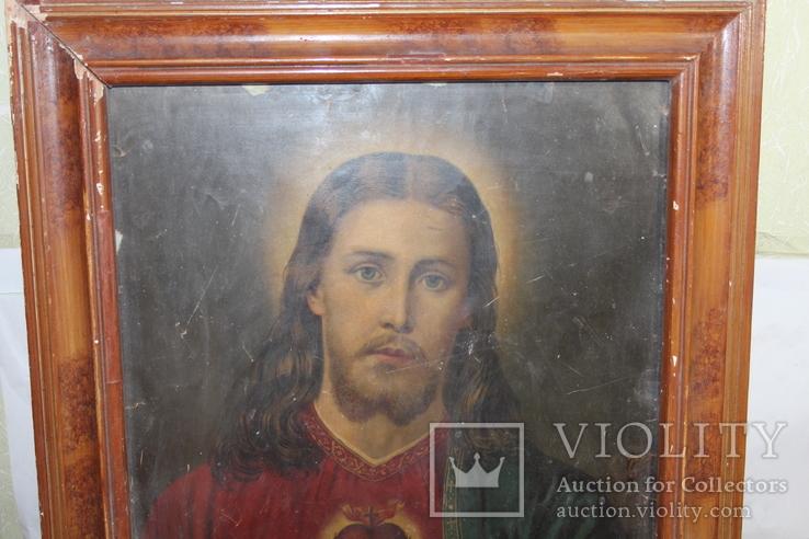 Икона Иисус Христос 50*60, фото №3