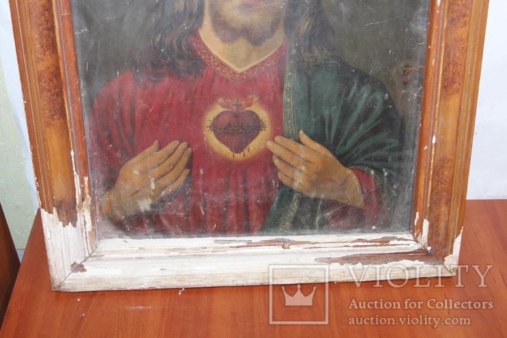 Икона Иисус Христос 50*60, фото №5