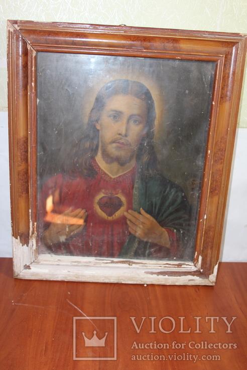 Икона Иисус Христос 50*60, фото №9