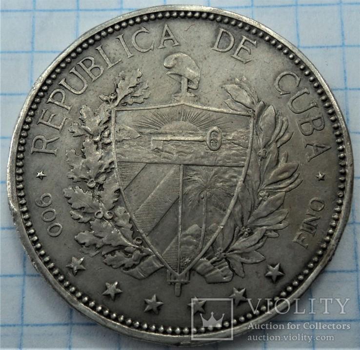 1 песо 1897 год Куба. См. обсуждение., фото №4