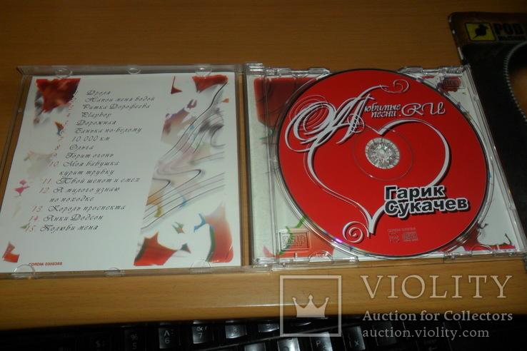 Диск CD сд Гарик Сукачев - Любимые песни, фото №5