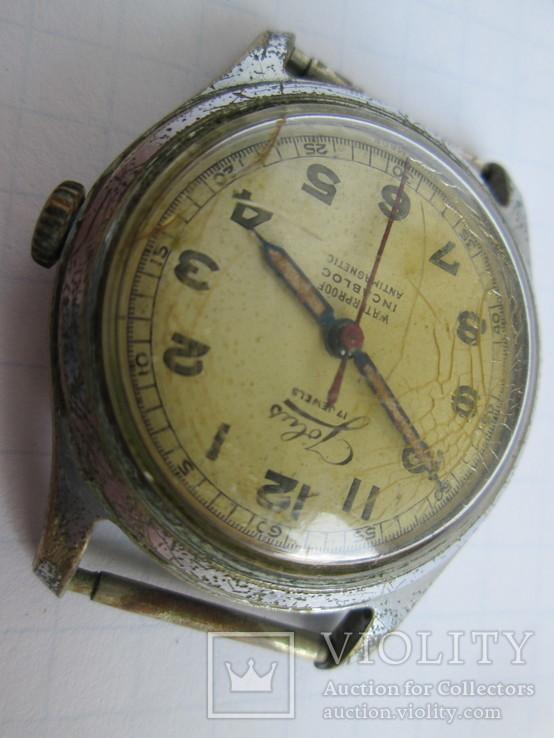 Швейцарские часы Jolus 40-50-е гг., фото №4