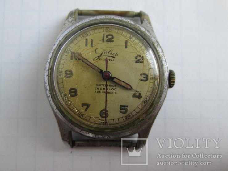 Швейцарские часы Jolus 40-50-е гг.