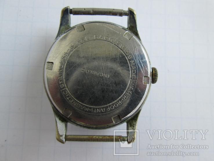 Швейцарские часы Jolus 40-50-е гг., фото №7