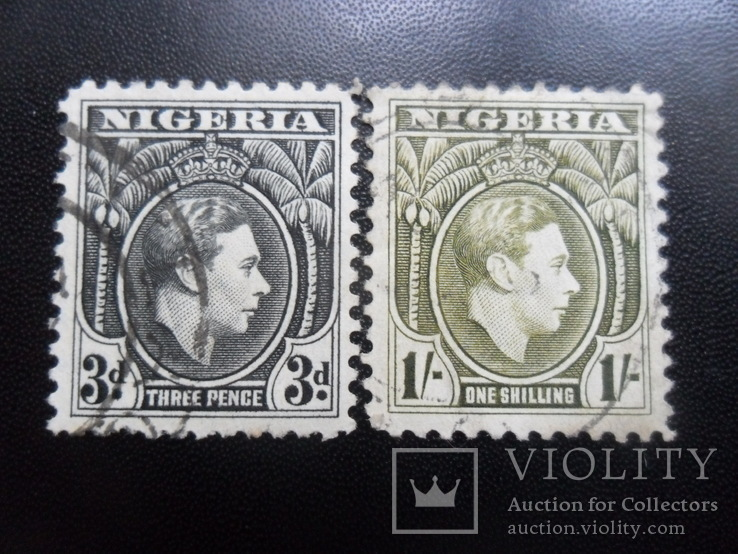 Британские колонии. Нигерия. 1938 г.  гаш