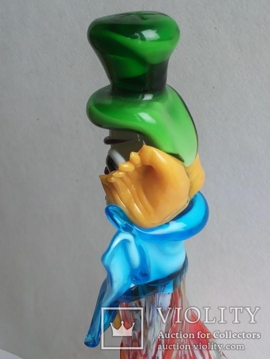 Клоун Муранское стекло Италия оригинал 1974 г, фото №12