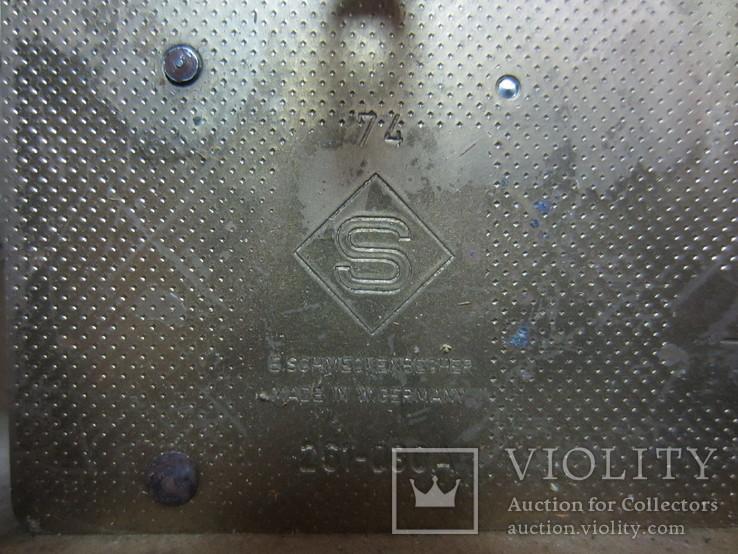 Настенные часы с боем, E. Schmeckenbecher, Германия, фото №3