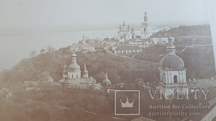 Фотография 1880-х годов Киев Лавра.