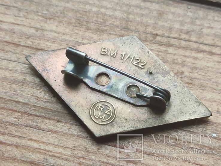 Знак ГЮ , качественная копия ,эмаль, клейма, 3 рейх, фото №5