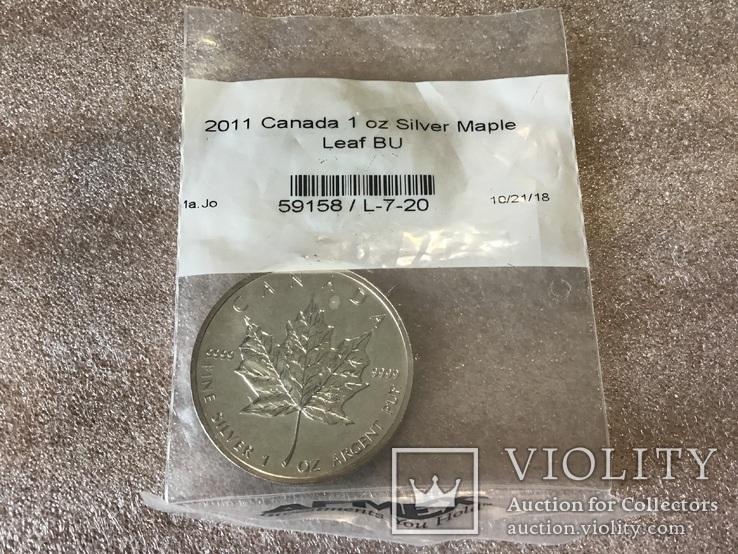 5 долларов 2011 года. Канада, фото №2