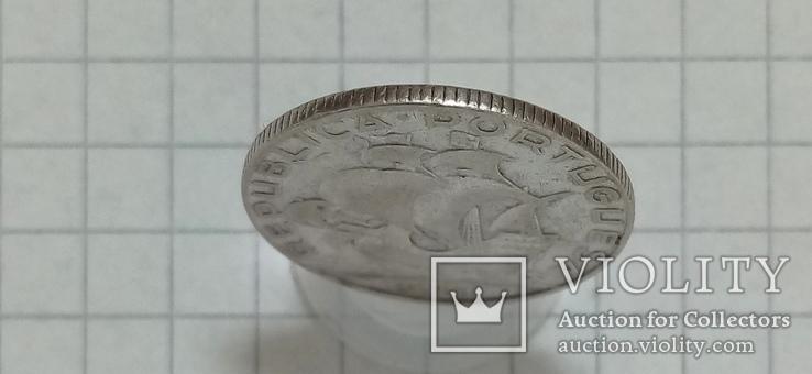 2/5 эскудо 1951г Португалия серебро, фото №4