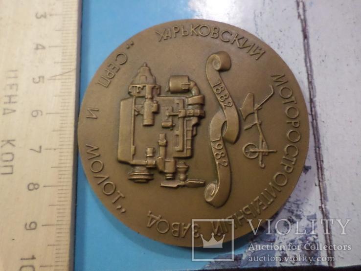 Настольная медаль №14, фото №2