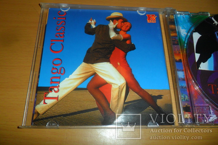 Диск CD сд Tango Classic . Rio Rita и другие, фото №6