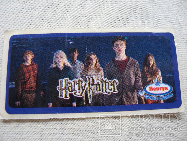 "Вкладыши наклейки"" Гарри Поттер"" 1 шт, фото №2"