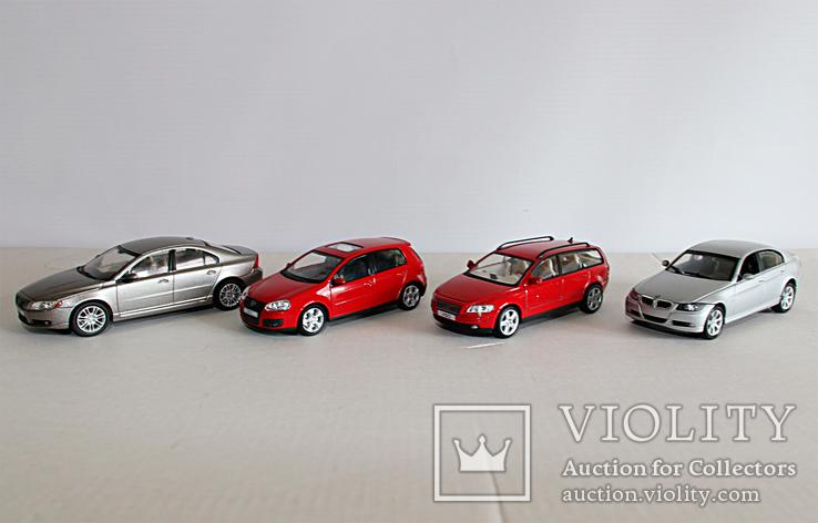 Модели 1:43 Volvo, VW, BMW, (Cararama, Welly), фото №2
