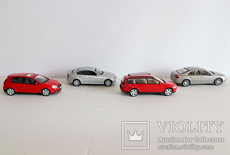 Модели 1:43 Volvo, VW, BMW, (Cararama, Welly), фото №5