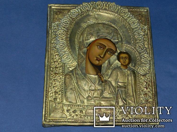 Казанская Присвятая Богородица 31\25.5см, фото №3