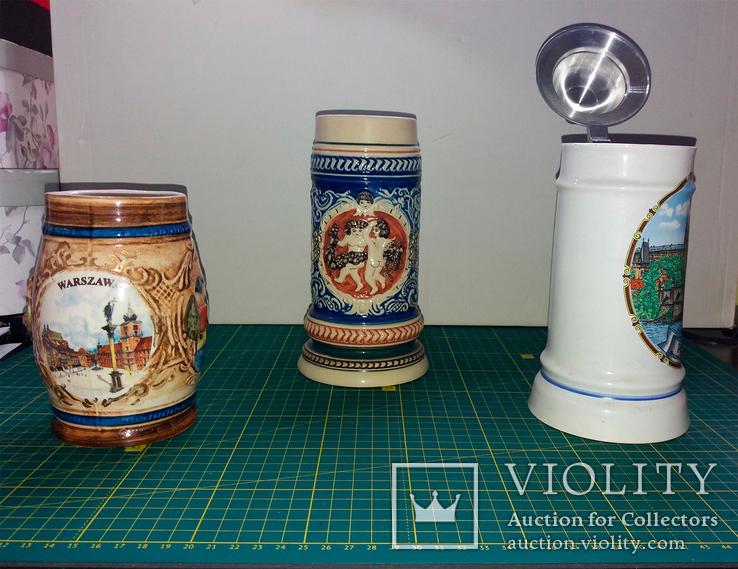 Набор коллекционных кружек, фото №3