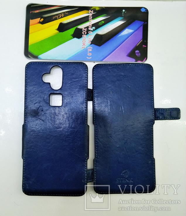 Чехол книжка кожа Stenk Prime для ASUS ZenFone 5 Lite, фото №5