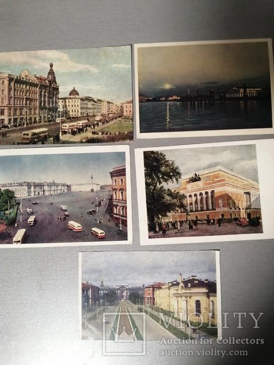 Открытки Города СССР 5 штук, фото №2