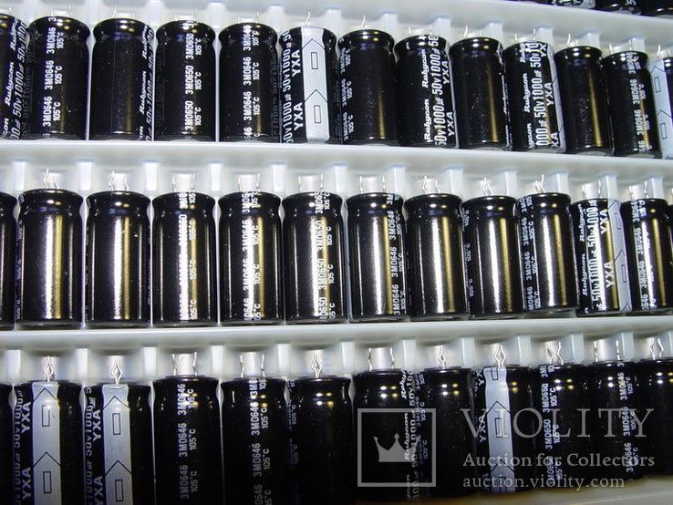 Конденсаторы электролит. 1000.0 x 50V, 100шт, фото №4