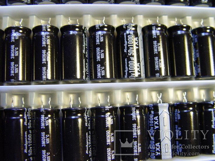 Конденсаторы электролит. 1000.0 x 50V, 100шт, фото №7