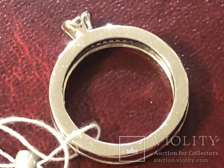 Кольцо . Новое. Серебро 925, фото №5