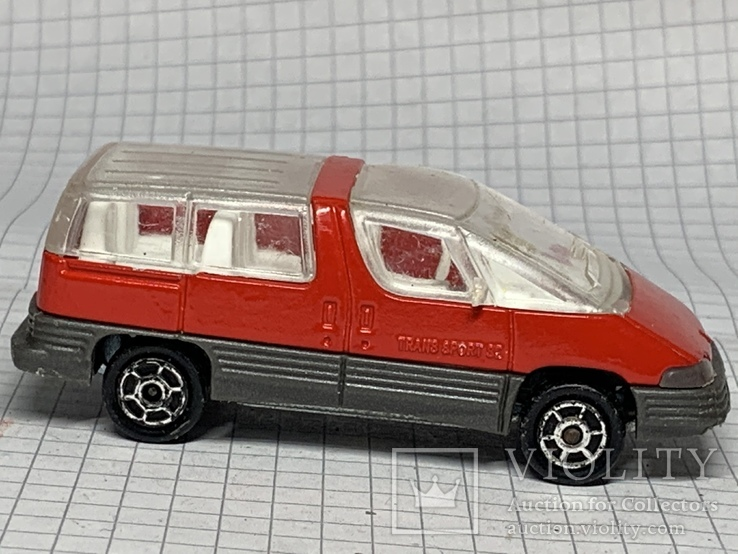 1/55 №258 Majorette Trans Sport Pontiac, фото №3