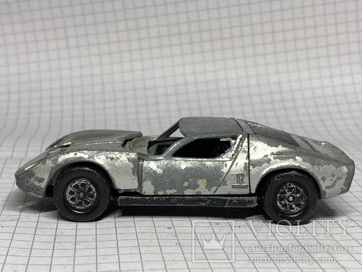 Corgi Toys Lamborghini Miura  P400 Made in Gt Britain, фото №4