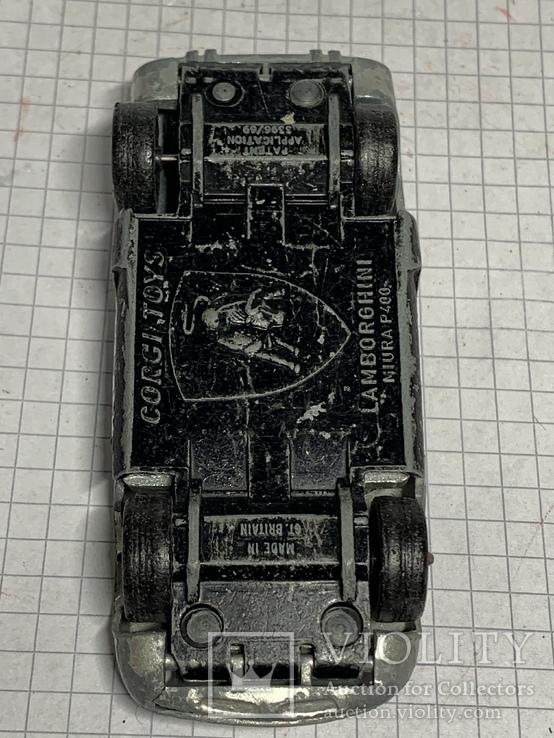 Corgi Toys Lamborghini Miura  P400 Made in Gt Britain, фото №8