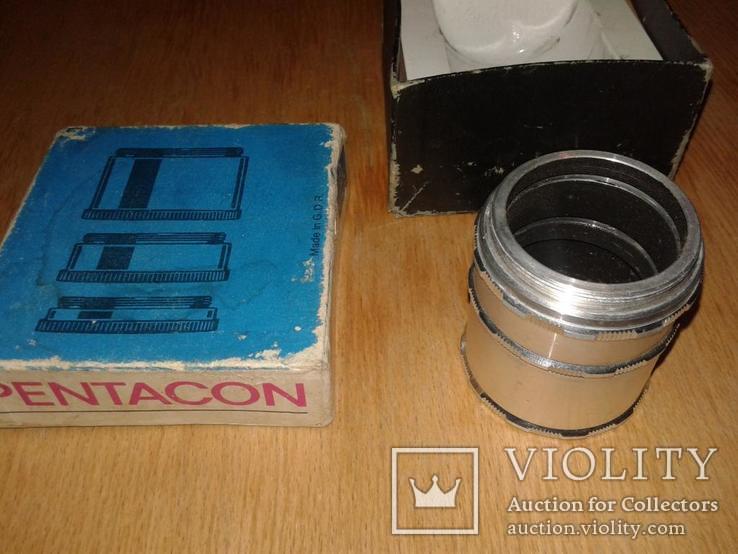 Кольца для макросъёмки Pentacon 42 мм, фото №4
