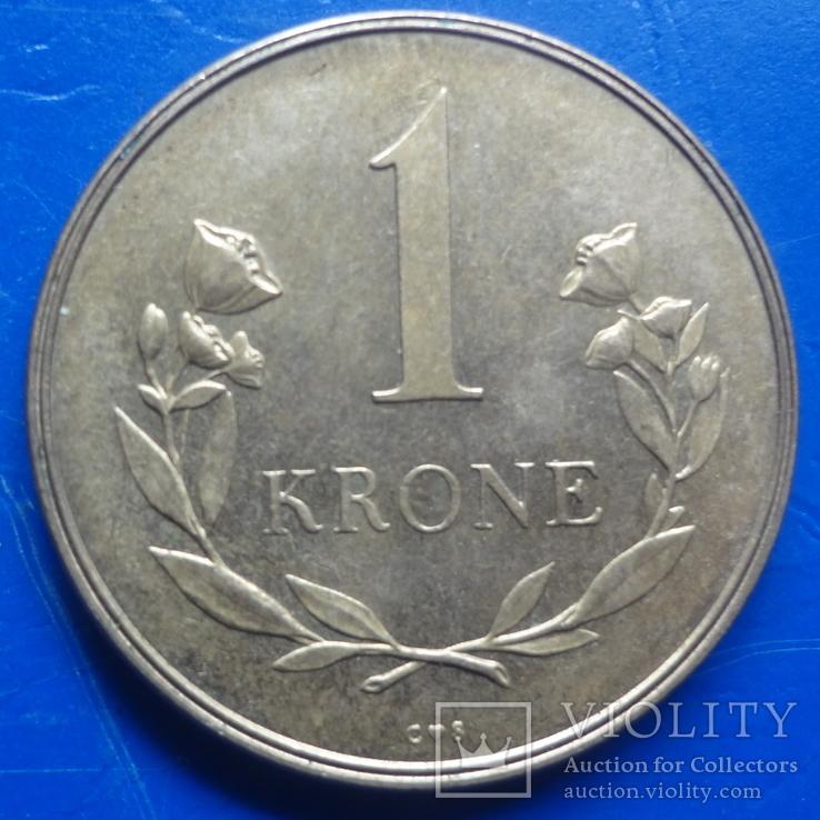 1  крона  1957 Гренландия   ($8.1.1)~, фото №3