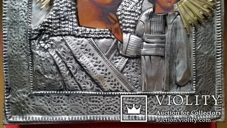 Ікона Казанська Богоматір, латунь, 31,5х26,5, фото №5