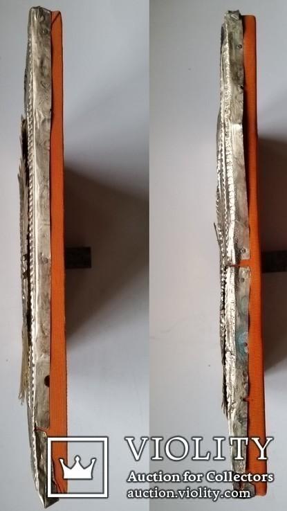 Ікона Казанська Богоматір, латунь, 31,5х26,5, фото №7