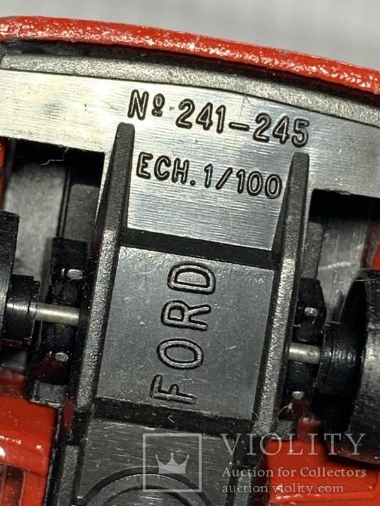 №241-245 Majorette Ford 1/100, фото №9