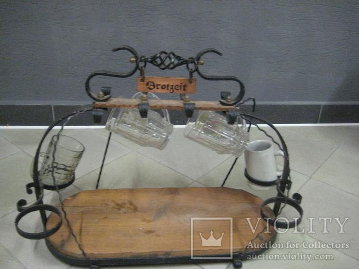 Подставка для пивных бокалов 80*50*30см, фото №5