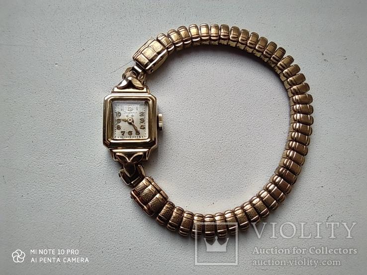 Часы Dugena. позолота 20мк