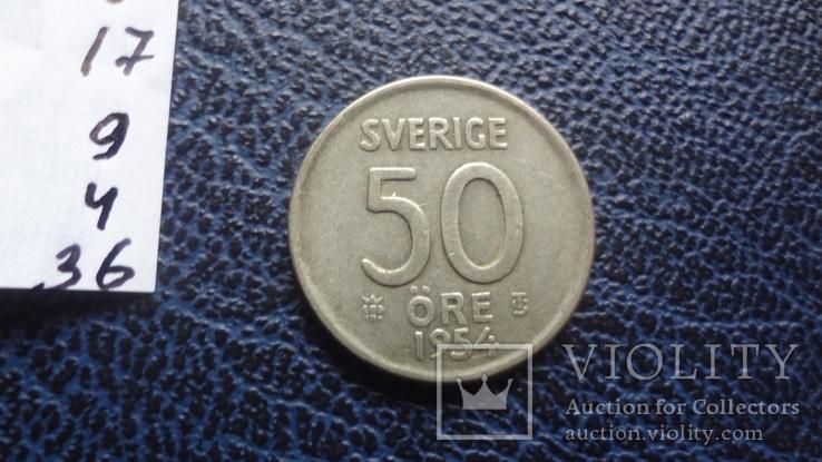 50  эре  1954  Швеция   ($11.4.36)~, фото №4