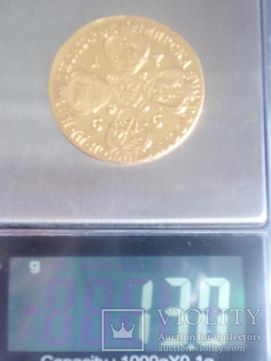 10 рублей 1766 года СПБ. тираж 159133 шт, фото №13