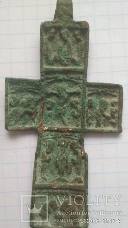 Крест большой нательний