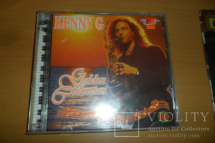 Диск CD сд Kenny G Golden Collection  2 диска, фото №2