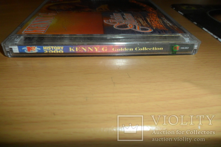Диск CD сд Kenny G Golden Collection  2 диска, фото №3