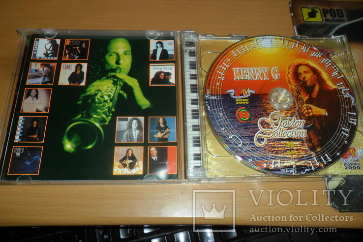 Диск CD сд Kenny G Golden Collection  2 диска, фото №6
