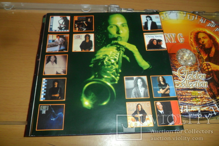 Диск CD сд Kenny G Golden Collection  2 диска, фото №7